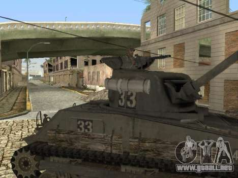 Tanque M4 Sherman para GTA San Andreas left