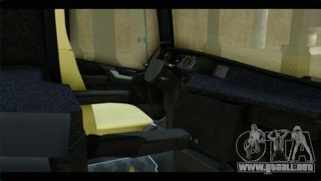Volvo FH4 Ocean Race para la visión correcta GTA San Andreas