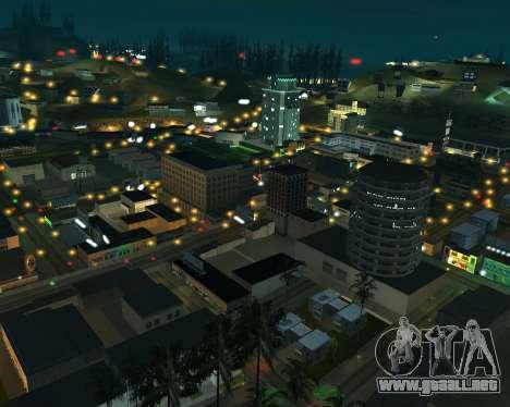 Project 2dfx 2.5 para GTA San Andreas segunda pantalla