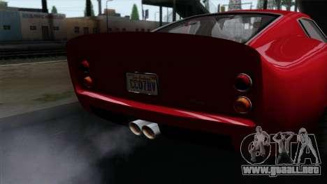 GTA 5 Grotti Stinger GT v2 IVF para la visión correcta GTA San Andreas