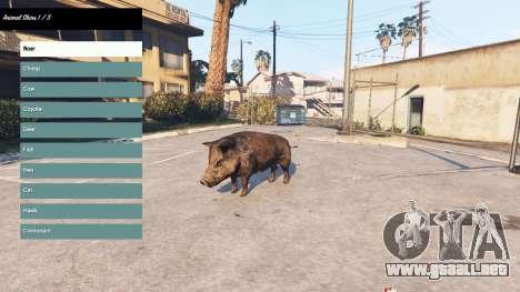 GTA 5 Para cambiar el carácter v2.0 segunda captura de pantalla