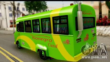 Chevrolet C30 Bus para GTA San Andreas left