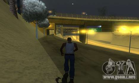 ENB Series v077 Light Effect para GTA San Andreas sexta pantalla