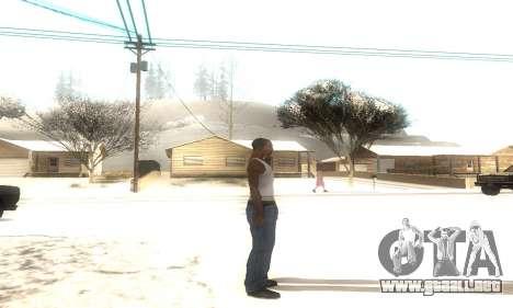ENB Series v077 Light Effect para GTA San Andreas segunda pantalla