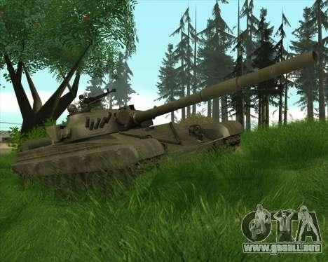 T-72 para GTA San Andreas vista hacia atrás