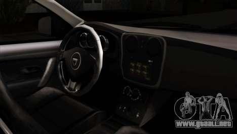 Dacia Logan MCV 2013 IVF para la visión correcta GTA San Andreas