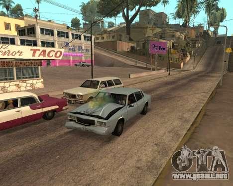 Rainbow Effects para GTA San Andreas séptima pantalla