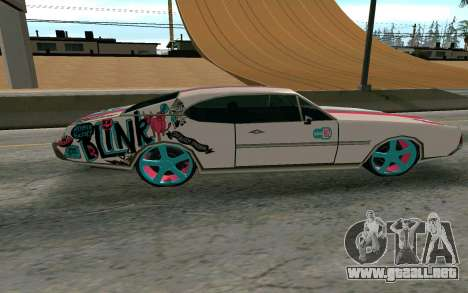 Clover Blink-182 Edition para GTA San Andreas left
