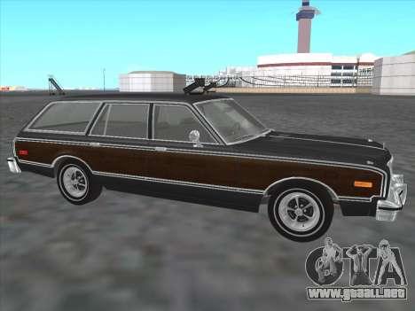 Plymouth Volare Wagon 1976 wood para GTA San Andreas left