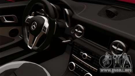 Mercedes-Benz SLK55 AMG 2012 para la visión correcta GTA San Andreas