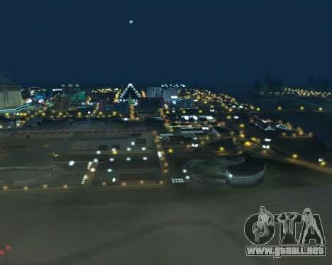 Project 2dfx 2.5 para GTA San Andreas octavo de pantalla