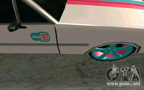 Clover Blink-182 Edition para visión interna GTA San Andreas