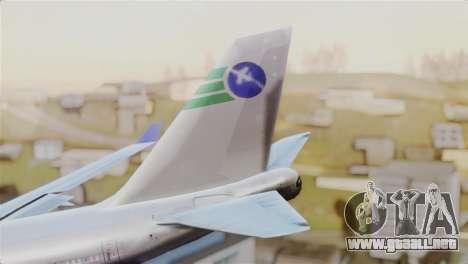 GTA 5 Caipira Airways para GTA San Andreas vista posterior izquierda