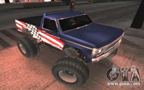 Nuevas texturas Monstruo Final para GTA San Andreas