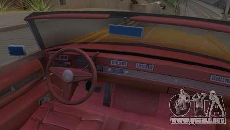 Cadillac Eldorado para la visión correcta GTA San Andreas