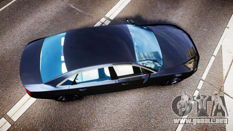 Audi A8 L 2015 Chinese style para GTA 4 visión correcta