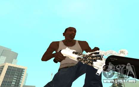 Skeleton Weapon Pack para GTA San Andreas séptima pantalla