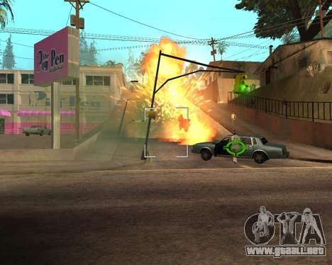 Rainbow Effects para GTA San Andreas décimo de pantalla
