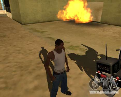 La sombra de la gente y los coches para GTA San Andreas tercera pantalla