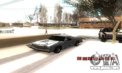 ENB Series v077 Light Effect para GTA San Andreas sucesivamente de pantalla