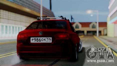 Volkswagen Jetta Stance para GTA San Andreas left