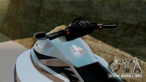 Seashark from GTA 5 para GTA San Andreas vista posterior izquierda