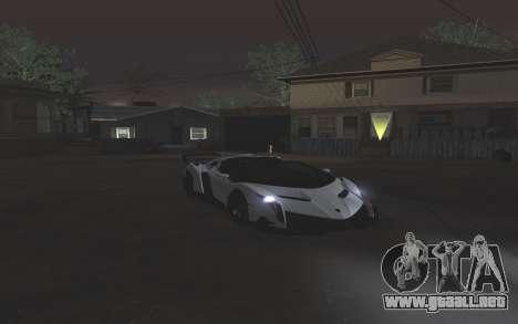 Colormod & ENBSeries para GTA San Andreas quinta pantalla
