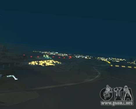 Project 2dfx 2.5 para GTA San Andreas quinta pantalla