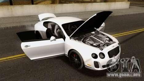 Bentley Continental SS 2010 para la visión correcta GTA San Andreas