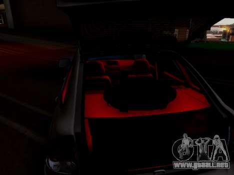 ВАЗ 2172 (Lada Priora) para visión interna GTA San Andreas