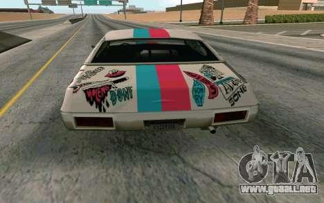 Clover Blink-182 Edition para la visión correcta GTA San Andreas