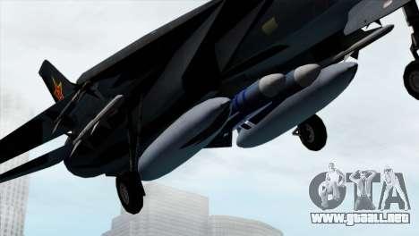 F-14 China Air Force para la visión correcta GTA San Andreas