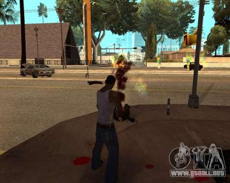 Rainbow Effects para GTA San Andreas tercera pantalla