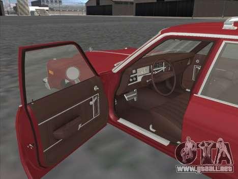 Plymouth Volare Wagon 1976 para la visión correcta GTA San Andreas
