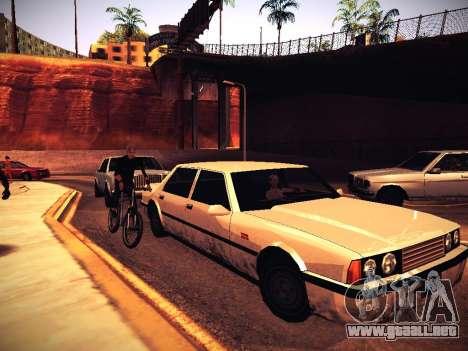 ENB Caramelo para GTA San Andreas novena de pantalla