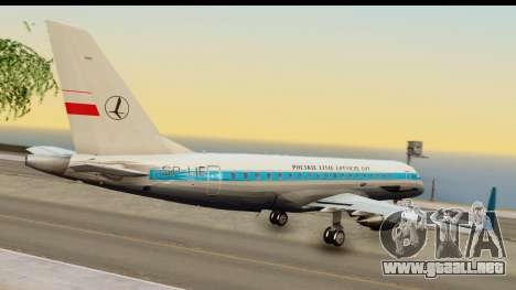 Embraer 175 PLL LOT Retro para GTA San Andreas left