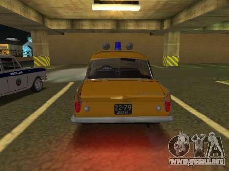 Moskvich 408 De La Policía para la visión correcta GTA San Andreas