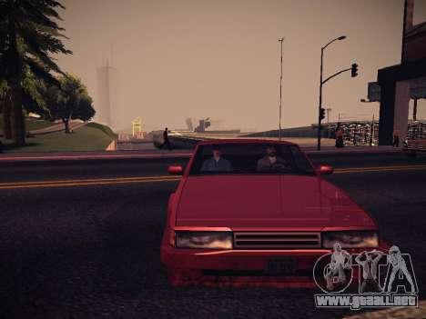 ENB Caramelo para GTA San Andreas quinta pantalla