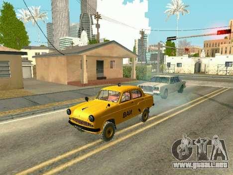 Moskvich 410 En para la visión correcta GTA San Andreas