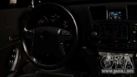 Toyota Hilux SW4 2014 Forca Tatica para GTA San Andreas vista hacia atrás
