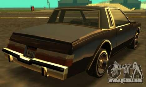 Majestic Restyle para visión interna GTA San Andreas