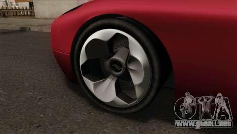 Bullet PFR v1.0 para GTA San Andreas vista posterior izquierda