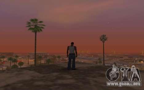 Timecyc & Colormod para GTA San Andreas quinta pantalla
