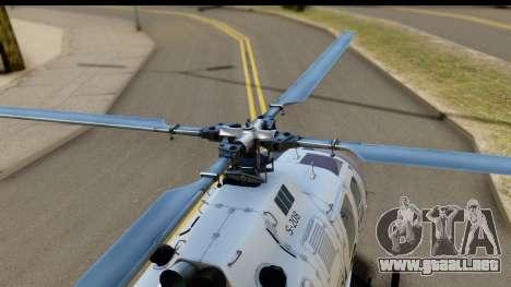 MBB Bo-105 Argentine Police para la visión correcta GTA San Andreas