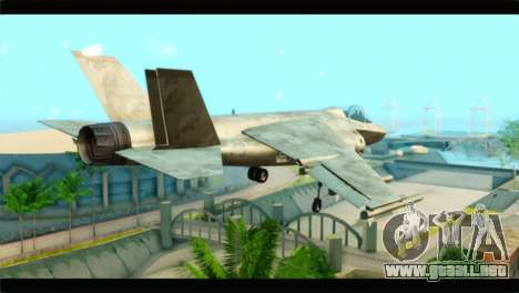 Mammoth Hydra v1 para GTA San Andreas left