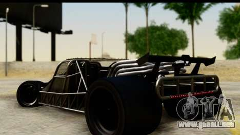 Flip Car 2012 para GTA San Andreas left