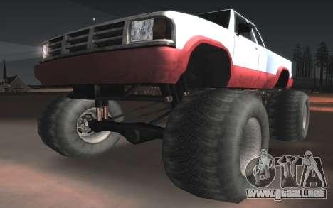 Nuevas texturas Monstruo Final para visión interna GTA San Andreas