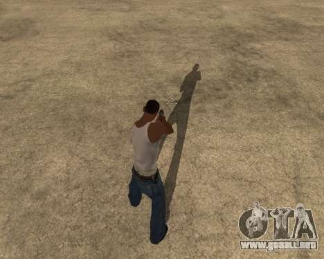 La sombra de la gente y los coches para GTA San Andreas segunda pantalla