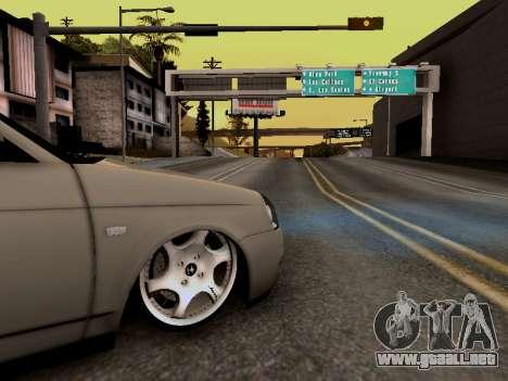 ВАЗ 2172 (Lada Priora) para la visión correcta GTA San Andreas