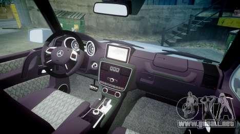 Mercedes-Benz B65 Brabus [ELS] para GTA 4 vista hacia atrás